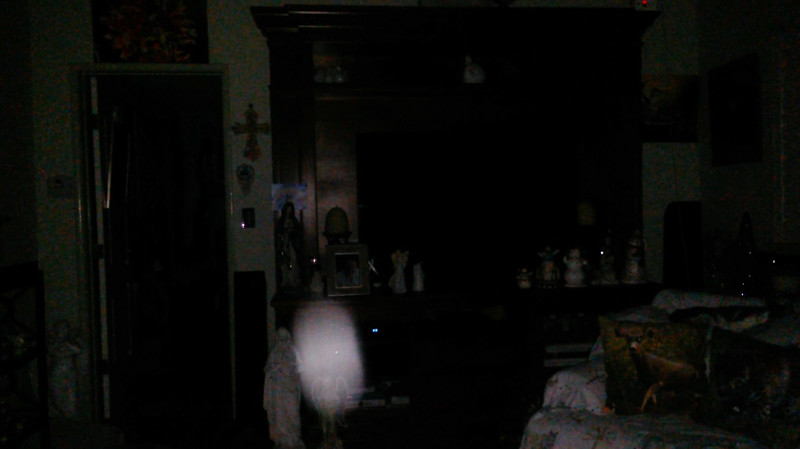 This is the eighth still image, of ten images presented, of The Light of Mother Mary; as captured on video the evening of November 16, 2018.