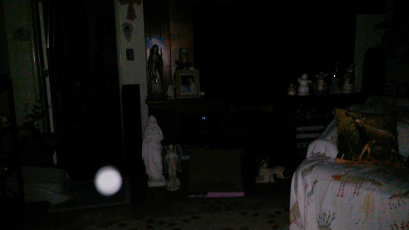 This is one still image, of five images presented, of Archangel Ariel; as captured on video the evening of June 16, 2018.