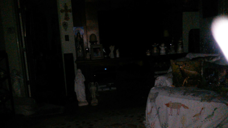 This is the ninth still image, of fifteen images presented, of The Light of Jesus; as captured on video the evening of November 16, 2018.