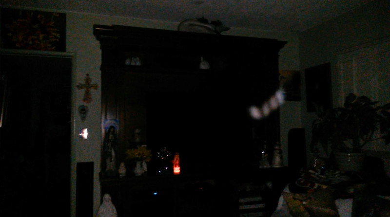 This is one still image, of eleven images presented, of The Light of Jesus; as captured on video Easter Eve, March 31, 2018.