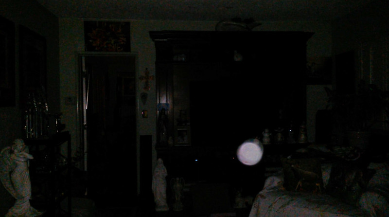 This is the fifth still image, of ten images presented, of The Light of Jesus; as captured on video the evening of April 16, 2018.