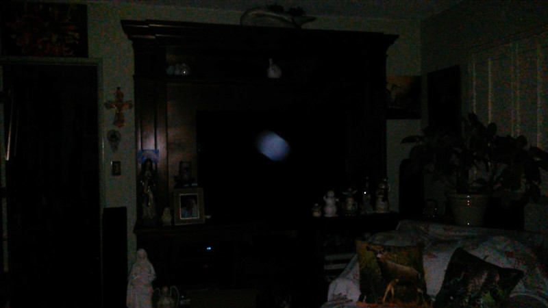 This is the third still image, of four images presented, of The Light of Jesus; as captured on video the evening of June 16, 2018.