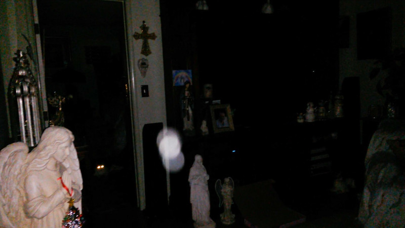 This is the seventh and final still image of The Light of Mother Mary; as captured on video the evening of August 12, 2018.
