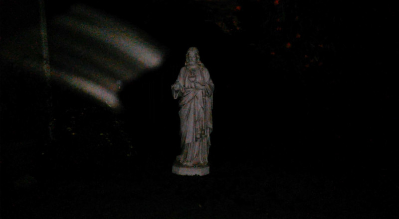 This is the fourth and final still image of The Light of Jesus; as captured on video the evening of March 24, 2018.