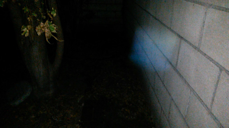 This is the tenth and final still image presented of The Light of Jesus; as captured on video Christmas evening, December 25, 2014.