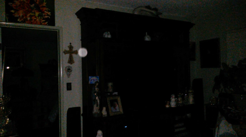 This is one still image, of three images presented, of Archangel Ariel; as captured on video Easter evening, April 1, 2018.
