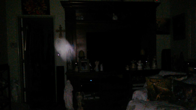 This is the sixth still image, of ten images presented, of The Light of Mother Mary; as captured on video the evening of November 16, 2018.