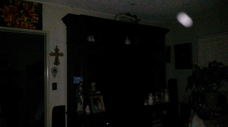 This is a still image of Archangel Ariel; as captured on video Easter evening, April 1, 2018.