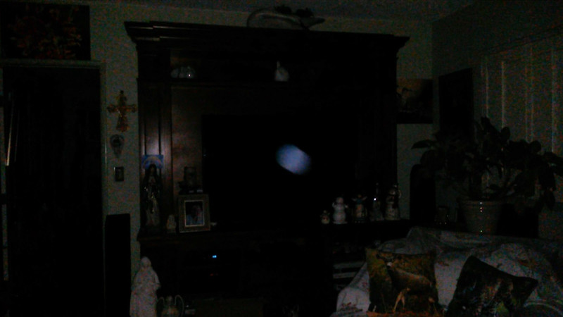 This is the second still image, of four images presented, of The Light of Jesus; as captured on video the evening of June 16, 2018.