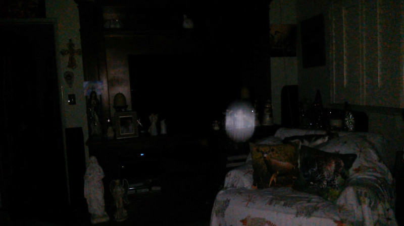 This is the fourth still image, of eleven images presented, of The Light of Saint Francis; as captured on video the evening of November 16, 2018.