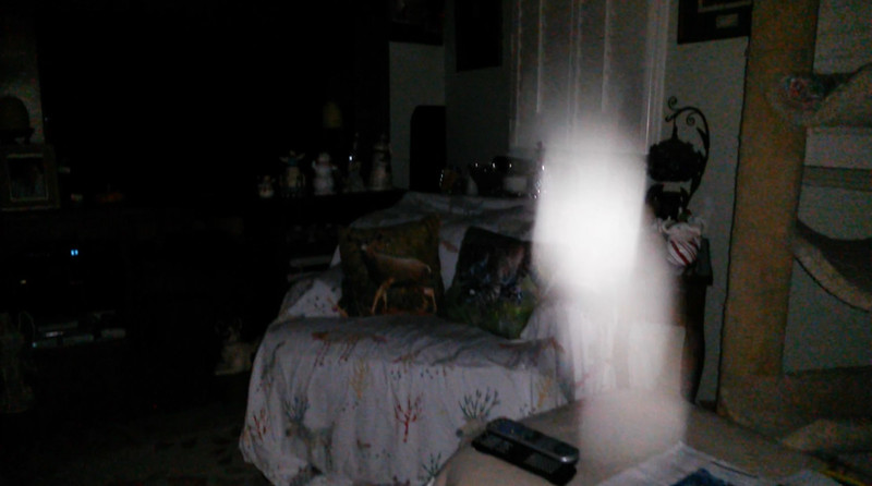 This is the fourteenth and final still image of The Light of Jesus; as captured on video the evening of October 3, 2018.
