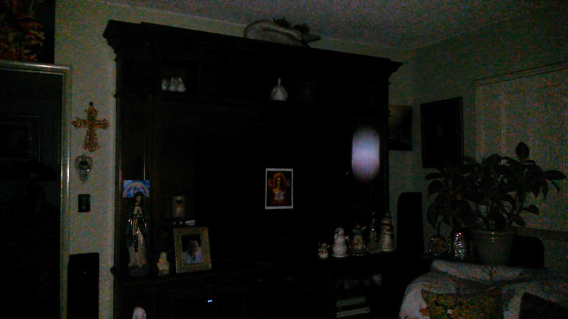 This is one still image, of five images presented, of The Light of Mary Magdalene; as captured on video the evening of July 19, 2018.