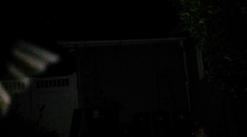 This is the third and final still image of The Light of Jesus; as captured on video the evening of April 28, 2018.