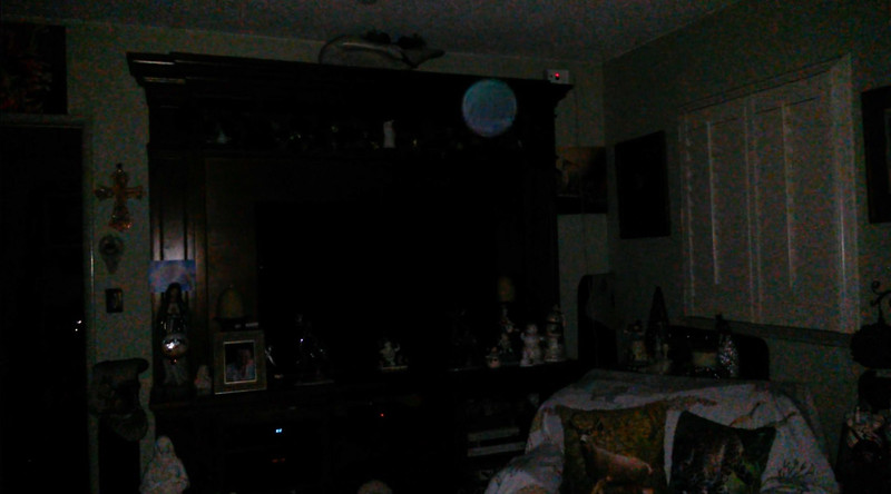 This is one still image, of five images presented, of The Light of Mary Magdalene; as captured on video the evening of December 17, 2018.