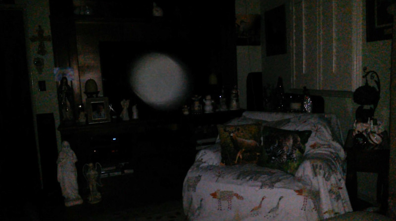 This is the ninth still image, of ten images presented, of The Light of Mother Mary; as captured on video the evening of November 11, 2018.
