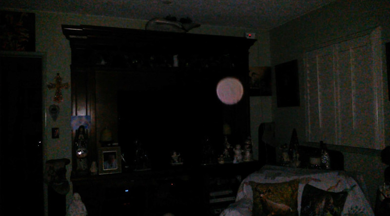 This is the third and final still image of The Light of Mother Mary; as captured on video the evening of December 17, 2018.