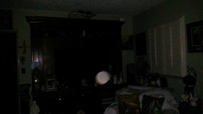 This is the third and final still image of Archangel Ariel; as captured on video the evening of December 26, 2018.