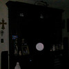 This is the fourth still image, of six images presented, of The Light of Mother Mary; as captured on video Easter evening  April 1, 2018.