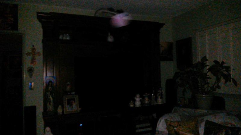 This is the third still image, of four images presented,of Archangel Ariel; as captured on video the evening of June 29, 2018.