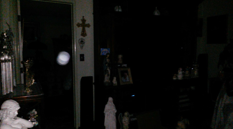 This is the fourth still image, of six images presented, of The Light of Jesus; as captured on video the evening of March 26, 2018.