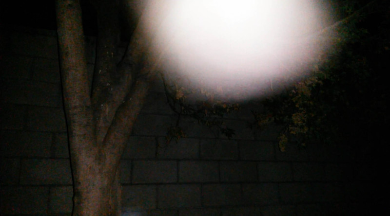 This is the sixth still image, of seven images presented, of The Light of Jesus; as captured on video the evening of July 19, 2016.
