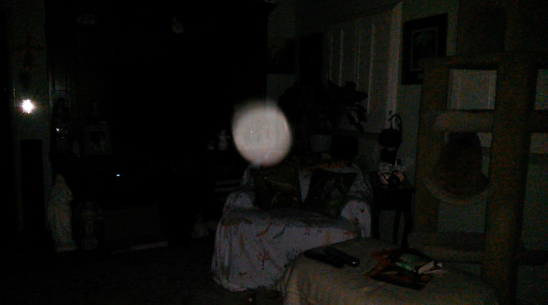 This is the fifth still image, of eight images presented, of The Light of Jesus; as captured on video the evening of February 8, 2018.