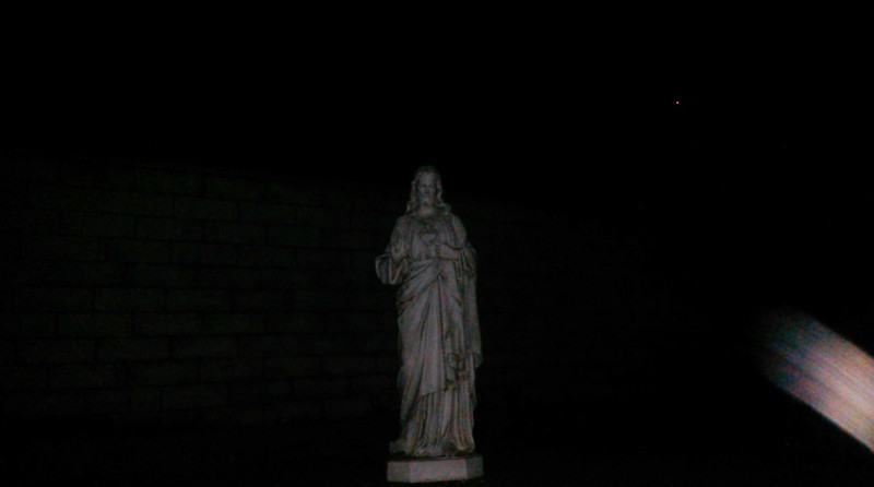 This is the third and final still image of Archangel Gabriel; as captured on video the evening of February 9, 2018.