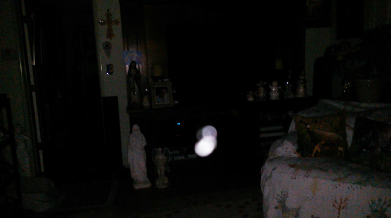 This is one still image, of ten images presented, of The Light of Jesus; as captured on video the morning of September 16, 2018.