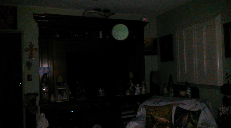 This is the fifth and final still image of The Light of Mary Magdalene; as captured on video the evening of December 17, 2018.
