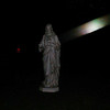 This is a still image of the beautiful Light of Archangel Ariel descending towards my Jesus statue; as captured on video the evening of July 11, 2018.
