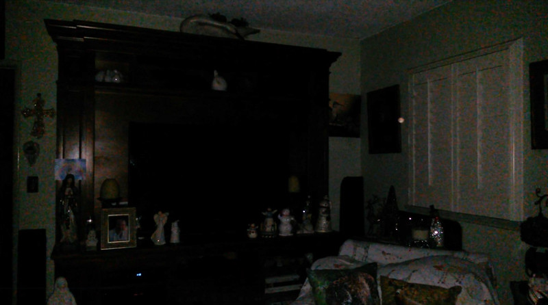 This is the seventh still image, of fourteen images presented, of The Light of my friend's mother, Trixie; as captured on video the evening of November 2, 2018.