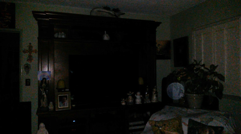 This is the eighth still image, of nine images presented, of The Light of Jesus; as captured on video the evening of September 5, 2018.