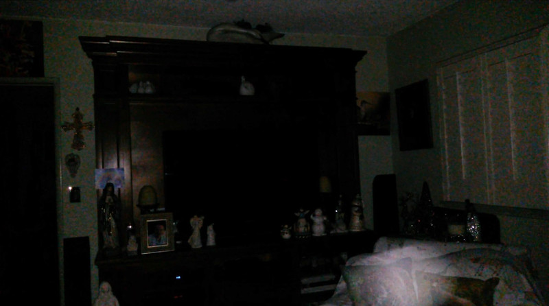 This is one still image, of three images presented, of The Light of Jesus; as captured on video the evening of November 2, 2018.