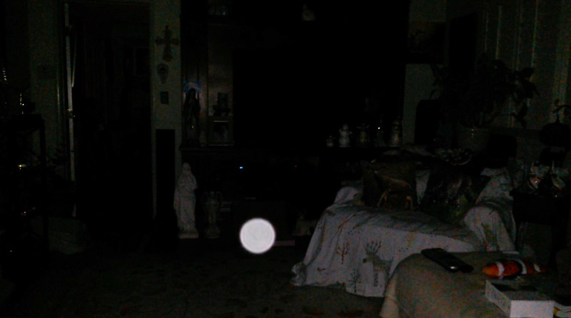 This is the seventh still image, of ten images presented, of The Light of Jesus; as captured on video the evening of April 16, 2018.