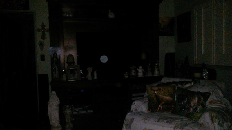 This is the fourth still image, of eight images presented, of The Light of Mother Mary; as captured on video the evening of November 16, 2018.