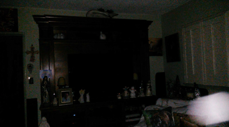 This is the third and final still image of The Light of Jesus; as captured on video the evening of November 2, 2018.
