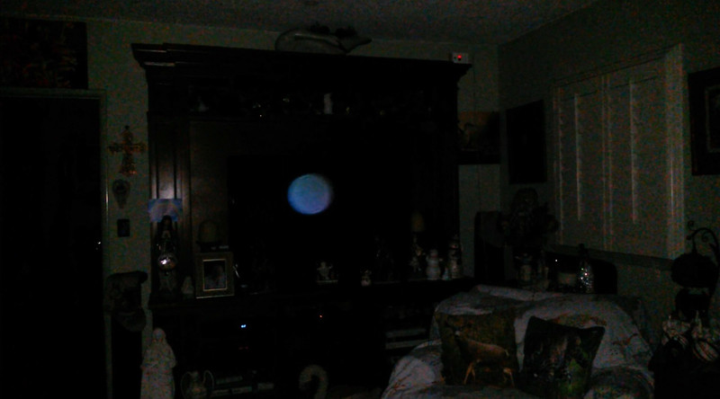 This is the second still image, of seven images presented of The Light of Jesus; as captured on video the evening of December 26, 2018.