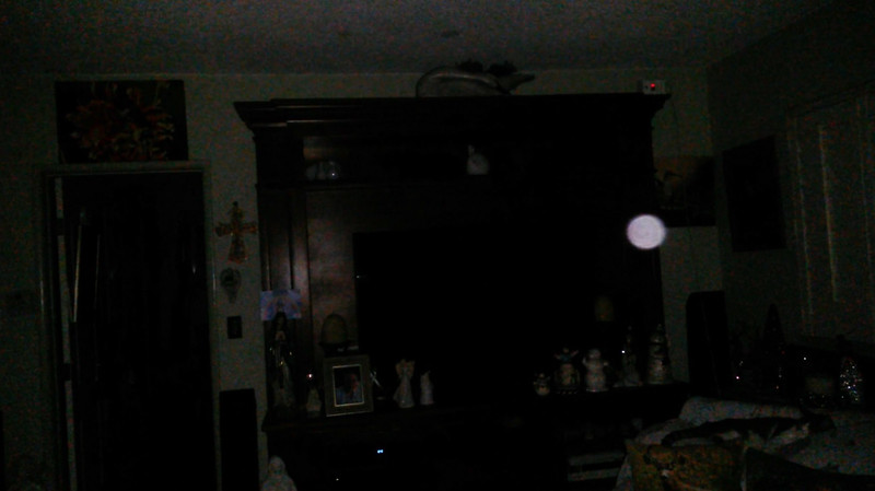 This is one still image, of ten images presented, of The Light of Jesus; as captured on video the evening of November 16, 2018.