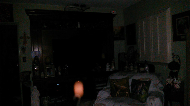This is the sixth and final still image of The Light of Jesus; as captured on video Christmas Evening 2018.