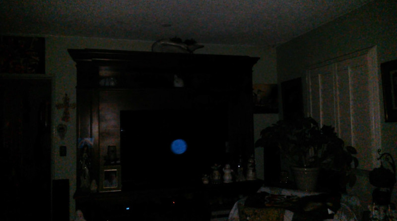 This is the second still image, of five images presented, of The Light of Jesus; as captured on video the evening of May 13, 2018.