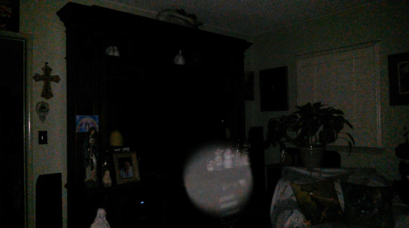 This is the seventh still image, of eight image presented, of The Light of Jesus; as captured on video the evening of September 15, 2018.