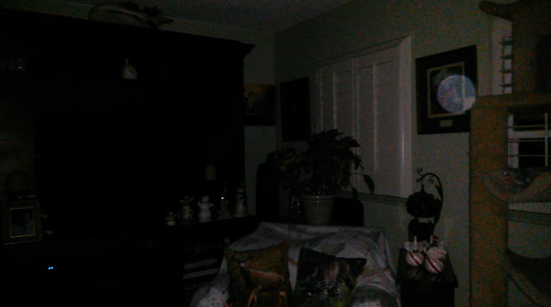 This is one still image, of two images presented, of The Light of Mary Magdalene; as captured on video the morning of September 16, 2018.