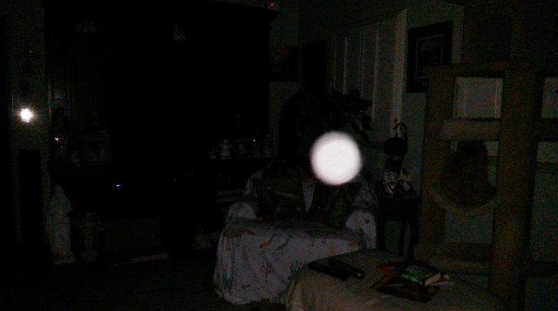 This is the third still image, of eight images presented, of The Light of Jesus; as captured on video the evening of February 8, 2018.