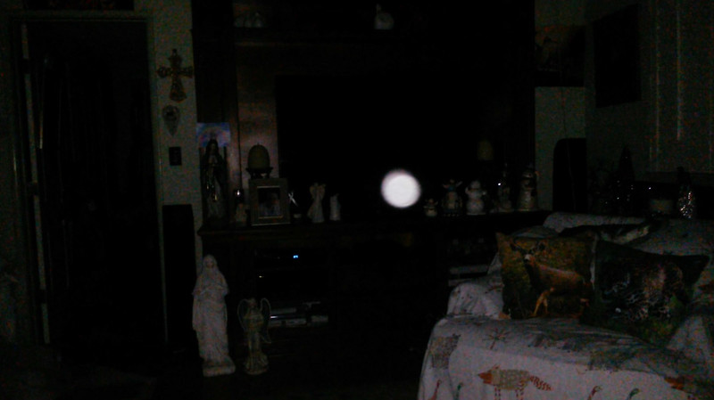 This is the third still image, of fifteen images presented, of The Light of Jesus; as captured on video the evening of November 16, 2018.