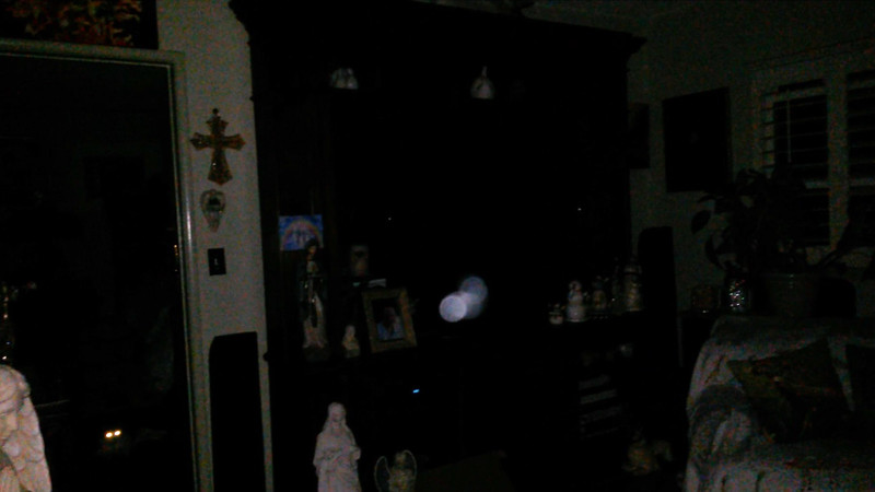 This is the fifth still image, of seven images presented, of The Light of Mother Mary; as captured on video the evening of August 12, 2018.
