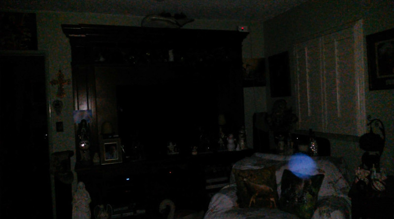 This is the seventh and final still image of The Light of Jesus; as captured on video the evening of December 26, 2018.