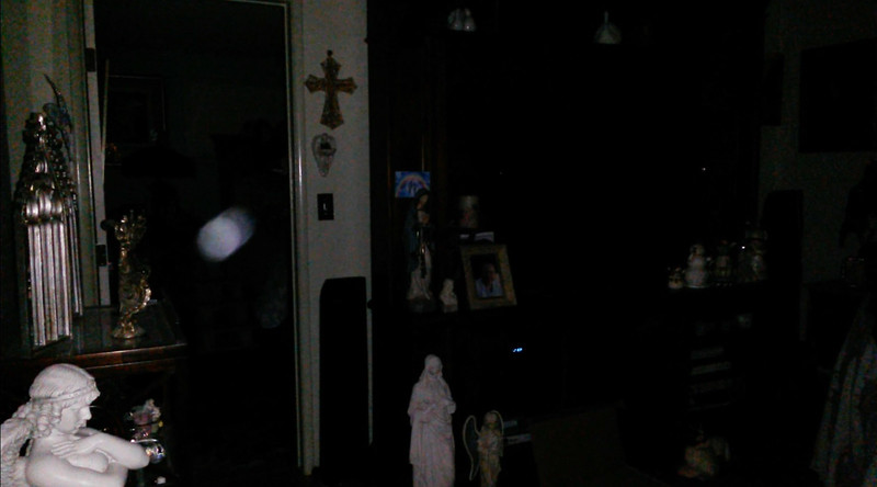 This is the fifth still image, of six images presented, of The Light of Jesus; as captured on video the evening of March 26, 2018.