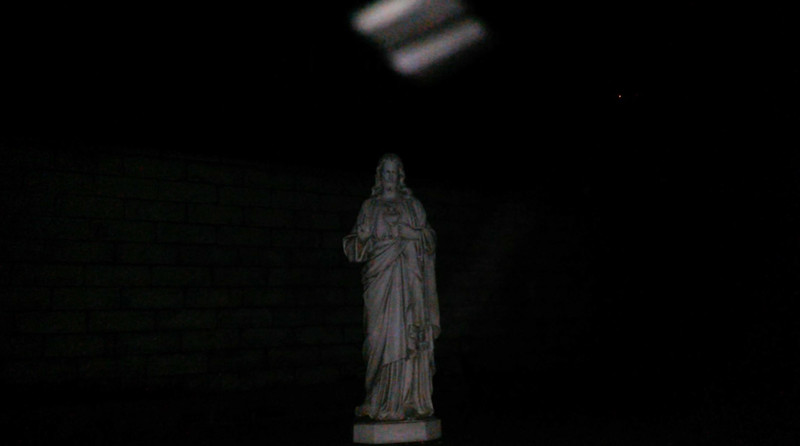 This is the fourth and final still image of The Light of Jesus; as captured on video the evening of February 9, 2018.