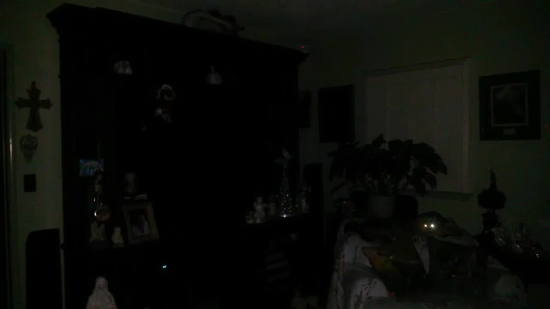 THE LIGHT OF JESUS IN SLOW MOTION - AS CAPTURED ON VIDEO THE EVENING OF DECEMBER 30, 2017