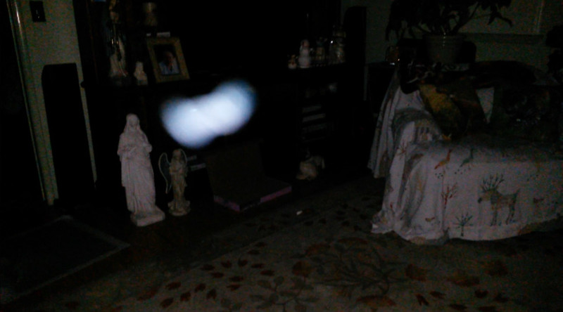 This is the ninth still image, of twelve images presented, of The Light of Jesus; as captured on video the evening of March 26, 2018.